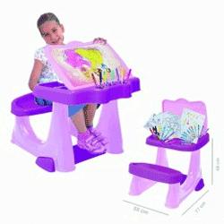 Birou fetite 3-7 ani cu scaun Disney Princess
