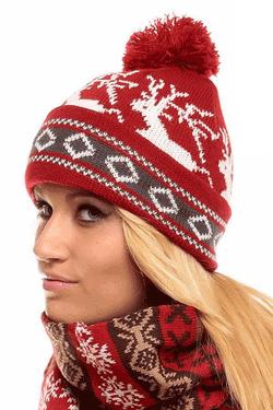 Caciula calduroasa pentru fete Snowy