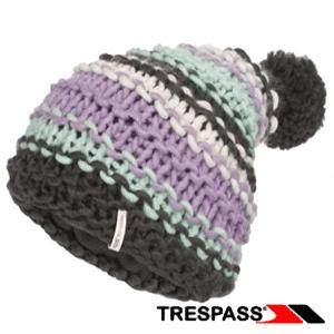 Caciula impletita cu mot pentru fete Trespass Persie Flint
