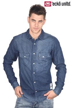 Camasa Jeans Ecko Unltd pentru barbati