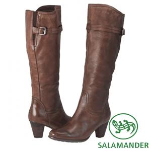 Cizme casual de dama din piele naturala Salamander pentru toamna – iarna