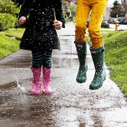 Cizme de ploaie din cauciuc pentru copii – fetite si baieti