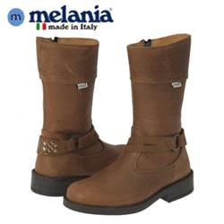 Cizme din piele pentru fetite Melania