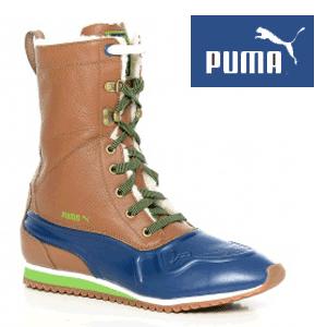 Cizme Puma originale pentru femei Duck Runner Boots