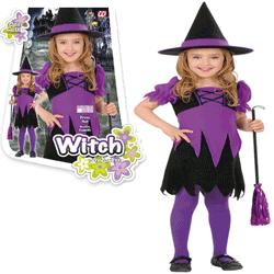 Costum tematic fetite Halloween - Vrajitoare