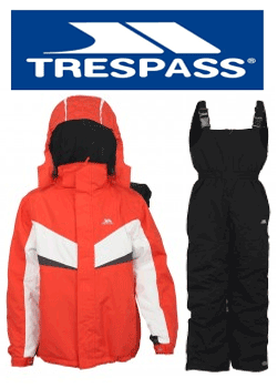 Costume de schi pentru copii Trespass Chamonix Fire
