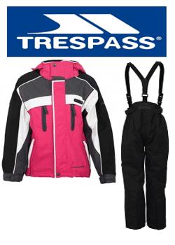 Costum de schi pentru fete Trespass Gerbera