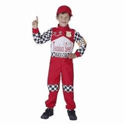Costum pentru copii Pilot Formula 1
