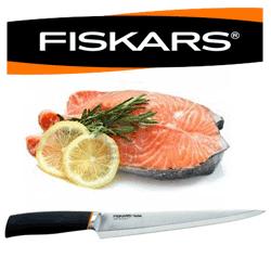 Cutit Fiskars ideal pentru taiat si filetat pestele