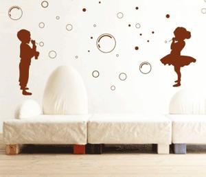 Decoratiuni camera copii: Baloane de sapun