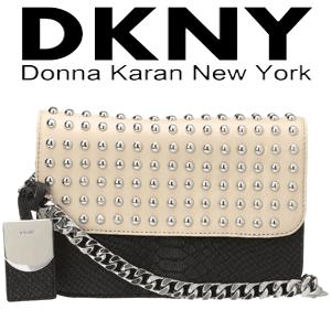 Donna Karan Small Flap Crossbody - geanta de dama din piele