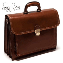 Geanta business din piele Sonia Ricci Marrone