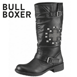Cizme dama stil motociclist Bull Boxer Moda Punk Rock