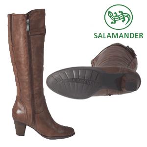 Cizme casual de dama pentru toamna iarna Salamander din piele naturala