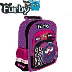 Ghiozdan scoala cu animalut Furby