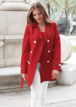Jacheta de dama pentru toamna
