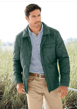 Jacheta matlasata usoara pentru barbati