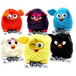 Jucarie Furby fara baterii 20 cm