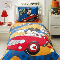 Lenjerie de pat Mickey Mouse bumbac