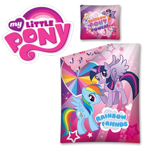 Lenjerie de pat My Little Pony Rainbow Friends