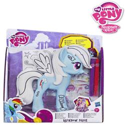 Figurinele My Little Pony seria Deco – decoreaza-ti si coloreaza-ti poneiul preferat