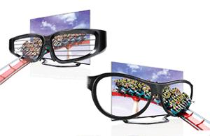 Ochelarii 3D LG sunt uşori, fără baterii şi economici