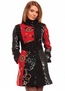 Palton de dama Amazing Colours desebit si unic