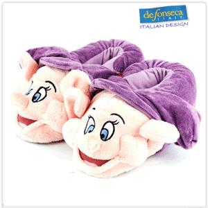 Papucei de casa pentru fete Pitici multicolori