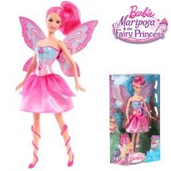 Barbie Mariposa Printesa Zana cu aripi
