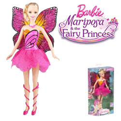 Papusa Barbie Mariposa - Fairy Princess