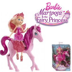 Papusa Barbie Fairy Princess Mariposa