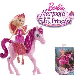 Papusi Fairy Princess – Zanele cu aripi si ponei