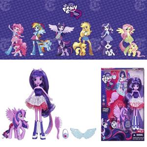 Papusi Equestria Girls Twilight Sparke cu Ponei