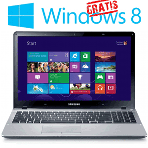 Laptop Samsung NP370R5E cu Windows 8 gratuit