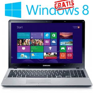 Promotie: Laptop SAMSUNG NP370R5E-A01RO cu licenta Windows 8 gratuita