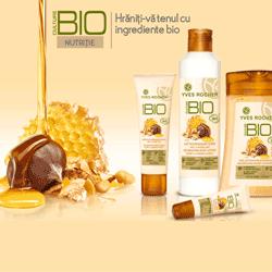 Produse cosmetice BIO pentru ten si corp in promotia Yves Rocher