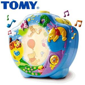 Lampa Vise Dulci Winnie the Pooh Tomy – Proiector camera bebelusului