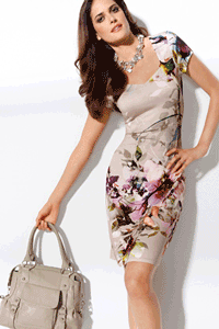 Rochie scurta frantuzeasca Votre Mode