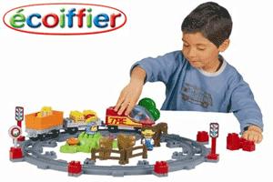 Set de constructie Trenulet Ecoiffier