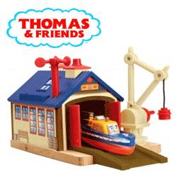 Set jucarii Thomas and Friends - Capitanie Thomas