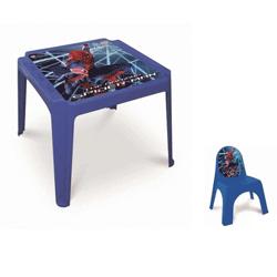 Set masuta si scaun copii 2 ani Spiderman