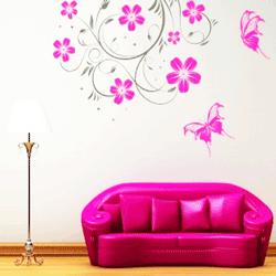 Stickere si desene decorative pentru peretii camerei