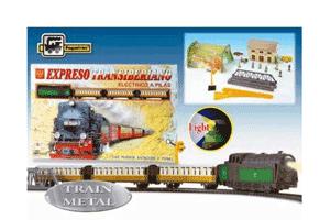 Trenulet electric de jucarie Expresul Transiberian