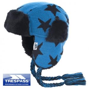 Caciulita de iarna pe urechi Royal Blue pentru baieti