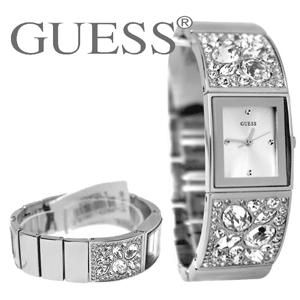 Ceas original GUESS Model Silver U0002L1