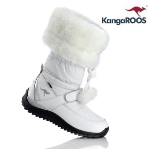 Cizme de iarna albe Kangaroos de dama si fetite