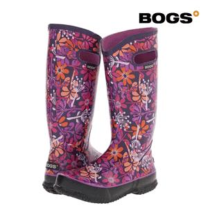 Cizme din cauciuc elegante si colorate Bogs - cizme de dama pentru ploaie