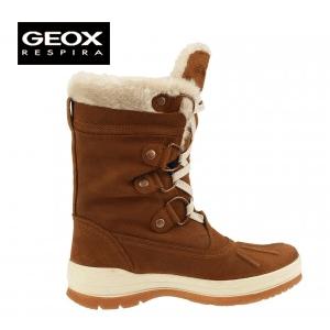 Cizme Geox Sedico Cognaq de dama pentru iarna si zapada