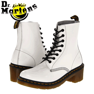Ghete fete Dr Martens Clemency 8 Eye Tide