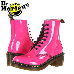 Ghete, bocanci si cizme funky rock, cu personalitate Dr. Martens pentru femei